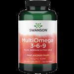 Swanson EFAs MultiOmega 3-6-9 (Flax, Borage, Fish)