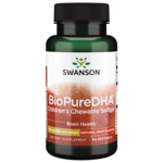 Swanson EFAs BioPure DHA Fish Oil Chewable Softgels