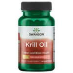 Swanson EFAs Maximum Strength Krill Oil
