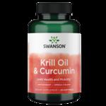 Swanson EFAsKrill Oil & Curcumin