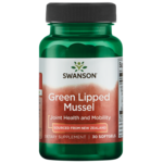 Swanson EFAs New Zealand Green Lipped Mussel Oil