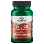 Swanson EFAsRIMFROST Krill Oil with Pure Coconut Oil