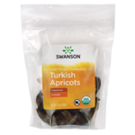 Swanson Organic Certified Organic Turkish Apricots Natural, Unsulphured