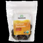 Swanson Organic Albaricoques turcos orgánicos naturales, sin azufre