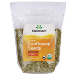Swanson Organic Certified Organic Sunflower Seeds Raw, Hulled