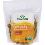 Swanson Organic Certified Organic Walnuts, Halves & Pieces