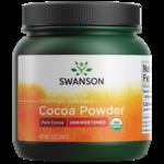 Swanson Organic 100% Certified Organic Cocoa Powder Unsweetened