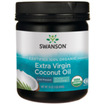 Swanson OrganicCertified 100% Organic Extra Virgin Coconut Oil