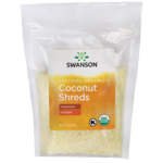 Swanson OrganicCertified Organic Unsulphured Coconut Shreds