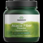 Swanson Organic100% Certified Organic Acacia Fiber Powder