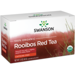Swanson Organic100% Certified Organic Rooibos Red Tea