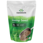 Swanson OrganicCertified Organic Hemp Seed Shelled