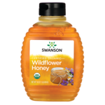 Swanson Organic Certified Organic Raw Wildflower Honey