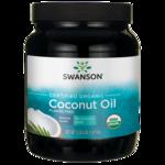 Swanson OrganicCertified Organic Flavor Free Coconut Oil