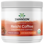 Swanson Organic Certified Organic Ganoderma (Reishi) Coffee