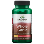 Swanson Best Garlic Supplements Certified Organic Whole Garlic