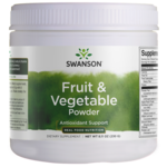 Swanson GreenFoods Formulas Fruit & Vegetable Powder