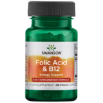 Swanson Ultra Folic Acid & B-12