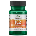 Swanson Ultra Vitamina K2 natural (menaquinona-7 de Natto)