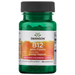 Swanson Ultra Vitamin B-12 with Folic Acid