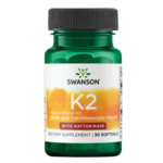 Swanson Ultra Natural Vitamin K2 with Nattokinase