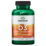 Swanson Ultra Vitamin D-3 with Certified Organic Coconut Oil