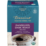 Teeccino Herbal Coffee - Dandelion Dark Roast