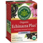 Traditional Medicinals Organic Echinacea Plus - Elderberry Tea