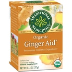 Traditional MedicinalsOrganic Ginger Aid Tea