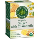 Traditional Medicinals Organic Ginger with Chamomile