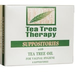 Tea Tree Therapy Vaginal Suppositories with Tea Tree Oil