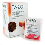 Tazo Tea Herbal Tea - Scarlet Citrus Rooibos