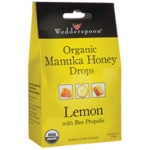 Wedderspoon Organic Manuka Honey Drops - Lemon with Bee Propolis