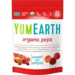 Yummy Earth Piruletas orgánicas de frutas