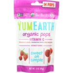 Yummy Earth Piruletas orgánicas de vitamina C