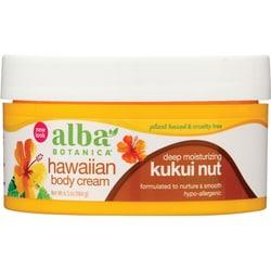 Alba Botanica Kukui Nut Body Cream
