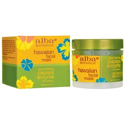 Alba BotanicaHawaiian Facial Mask Pore-fecting - Papaya Enzyme