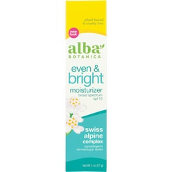 Alba Botanica Natural Even Advanced Moisturizer SPF 15 - Sea Moss