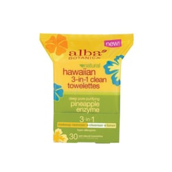 Alba BotanicaHawaiian 3-in-1 Clean Towelettes