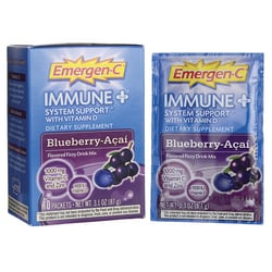 Alacer Emergen-CEmergen-C Immune Plus Blueberry-Acai