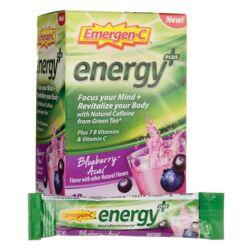Alacer Emergen-CEmergen-C Energy Plus - Blueberry-Acai