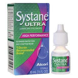 AlconSystane Ultra Lubricant Eye Drops - High Performance