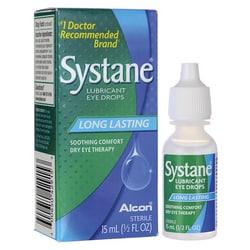 AlconSystane Lubricant Eye Drops - Long Lasting
