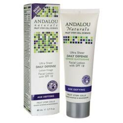 Andalou NaturalsAge Defying Ultra Sheer Daily Defense Facial Lotion - SPF 18