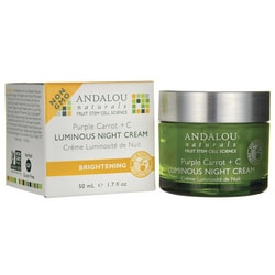 Andalou NaturalsBrightening Purple Carrot + C Luminous Night Cream