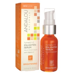 Andalou NaturalsBrightening Turmeric + C Enlighten Serum
