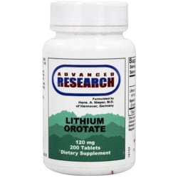 Advanced Research/Nutrient Carriers Lithium Orotate