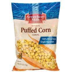 Arrowhead MillsNatural Puffed Corn Cereal