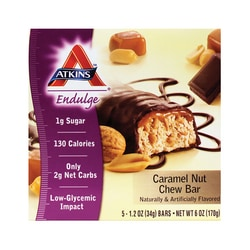 Atkins Endulge Bar Caramel Nut