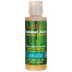 Aloe LifeAnimal Aloe Herbal Skin Treatment